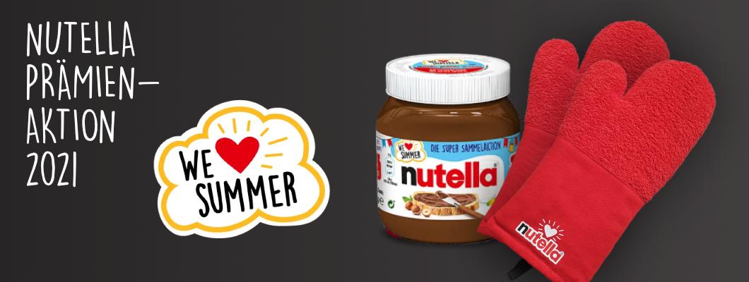 Bild vom Case Backhandschuh für Punkteaktion von Nutella